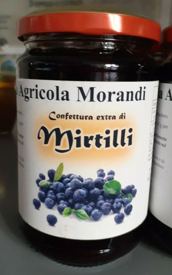 CONFETTURA EXTRA DI MIRTILLI - 150 G
