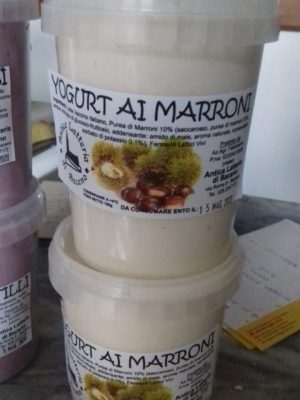 YOGURT AI MARRONI - 500 G